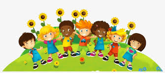 Cartoon picture of children