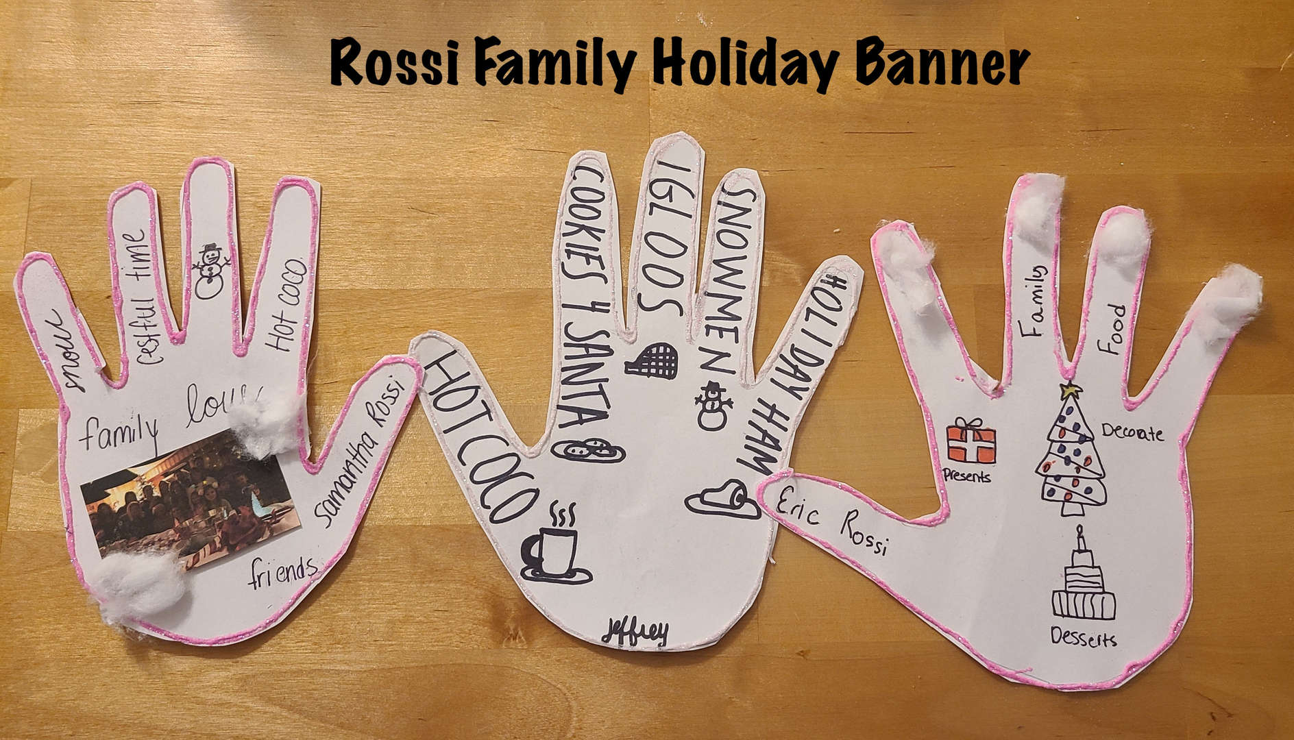 Rossi Family Hands