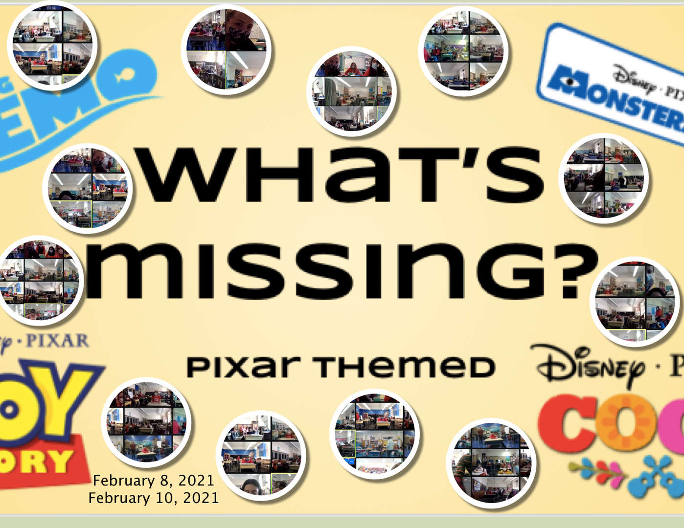 what's missing photo sheet
