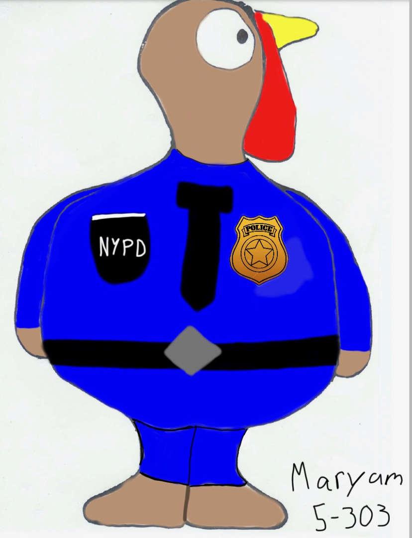 NYPD turkey