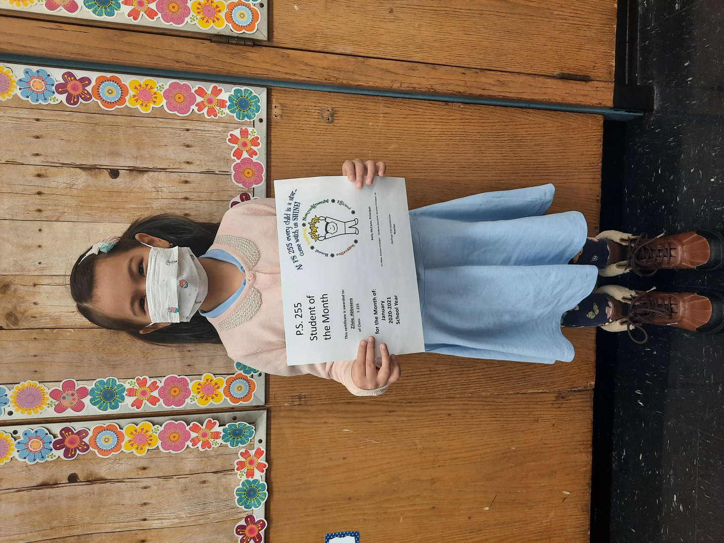 Zilola January Student of the Month