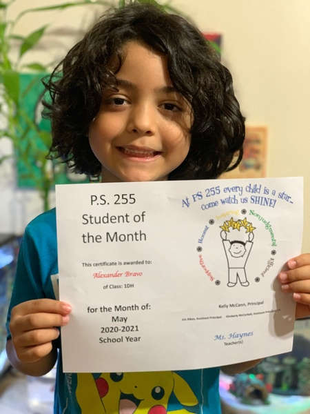 Alexander May Student of the Month