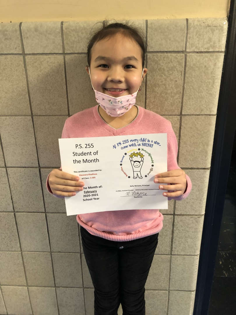 Eleonora February Student of the Month