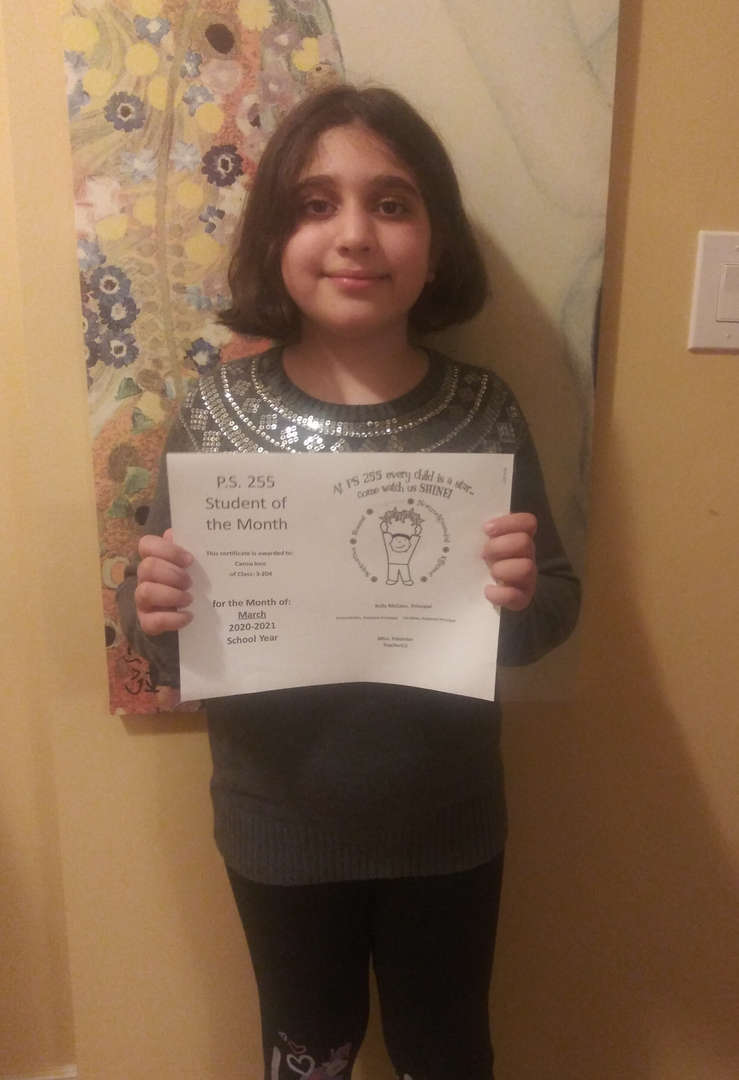 Cansu March Student of the Month