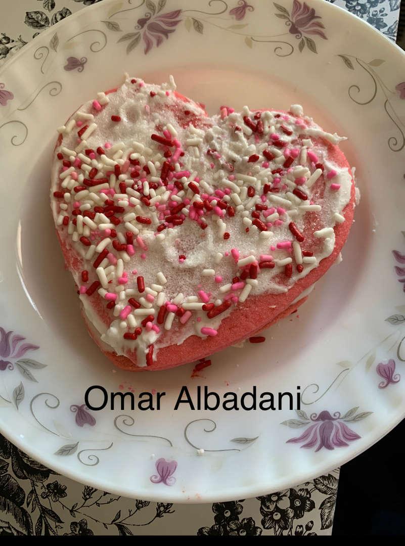 Omar's heart cookies