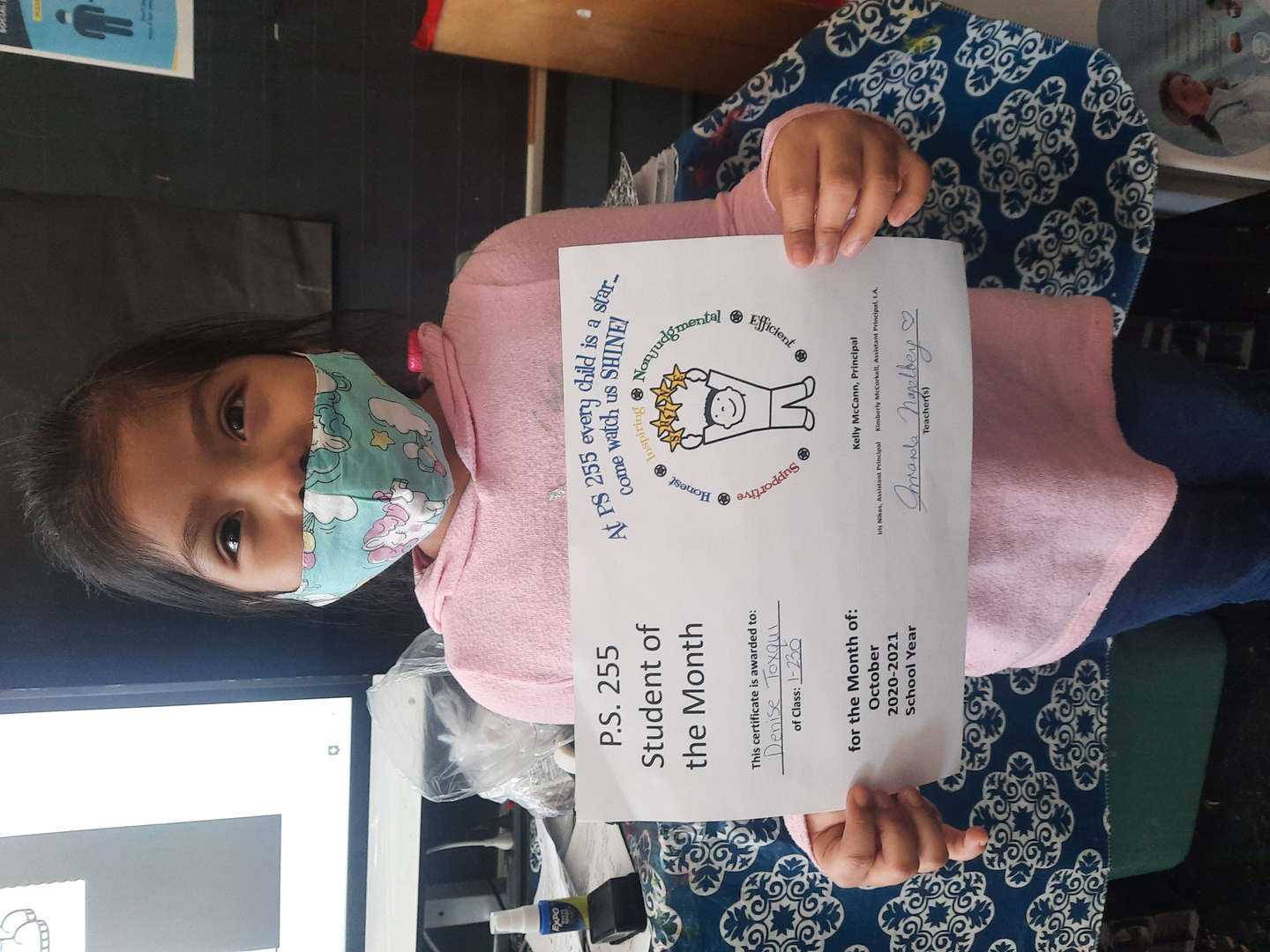 Denise January Student of the Month