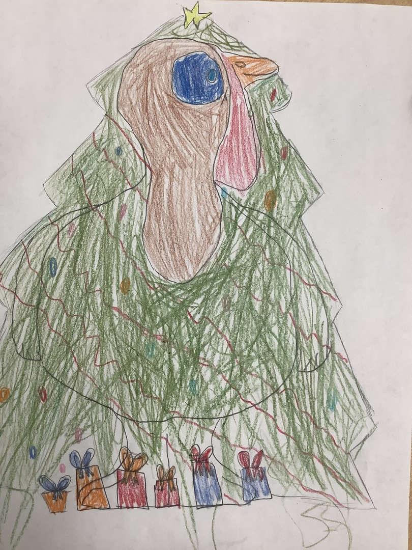 Tree turkey