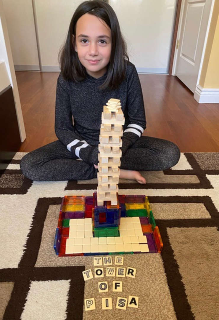 this is a tall white tower