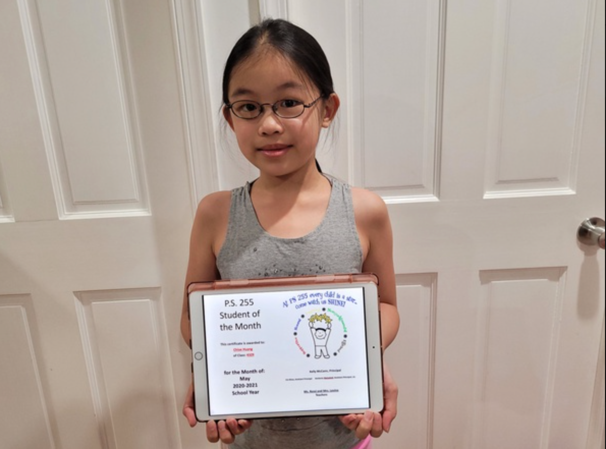Chloe May Student of the Month