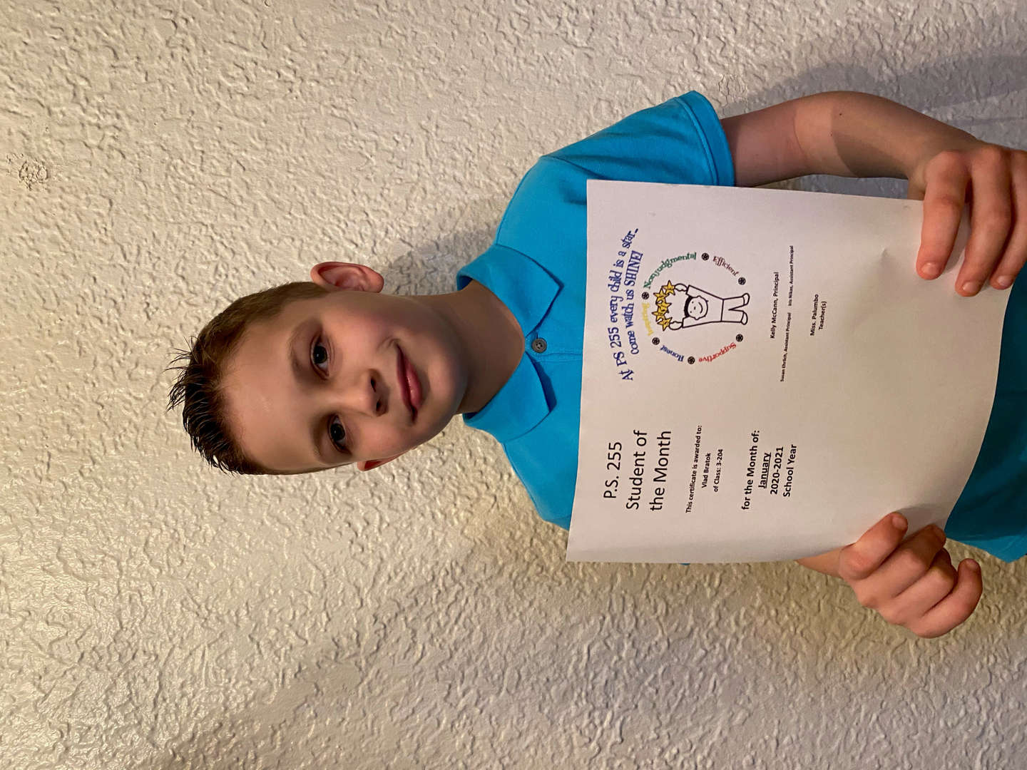 Vlad January Student of the Month