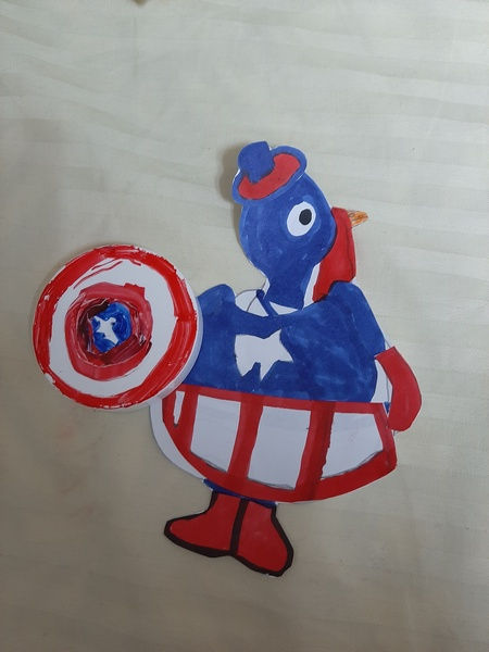 Captain America Turkey
