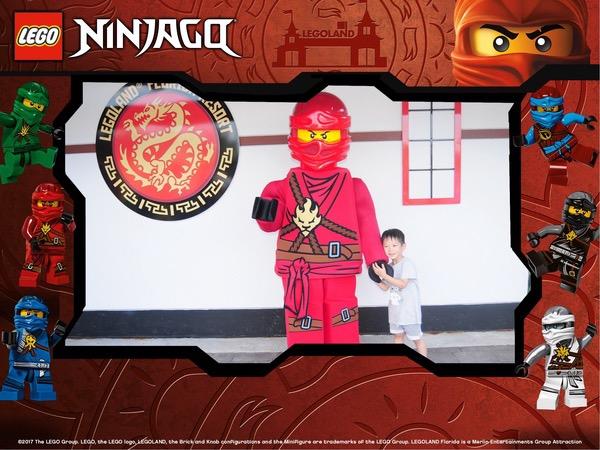 red Ninjago figure