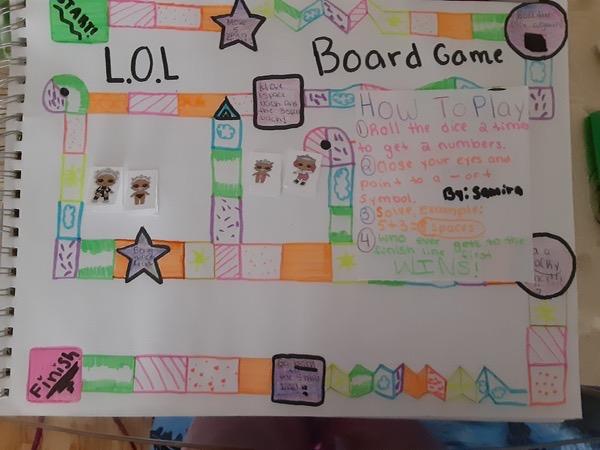 child's LOL board game