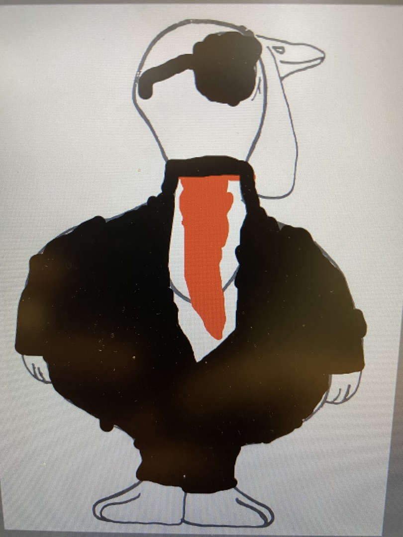 Businessman turkey with white shirt and red tie