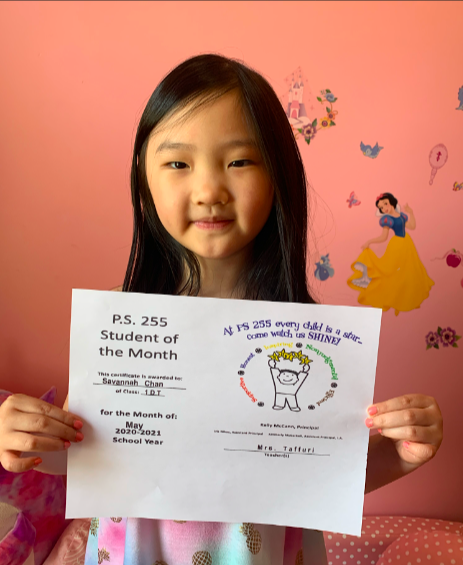 Savannah May Student of the Month