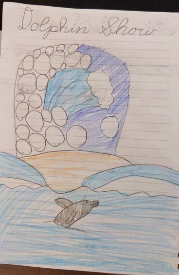 sea drawing