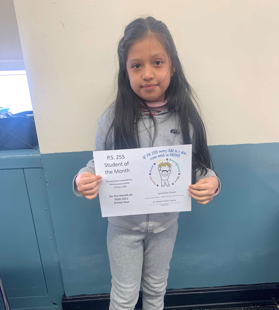 Shareny February Student of the Month