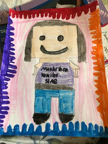 Students Legoland drawing