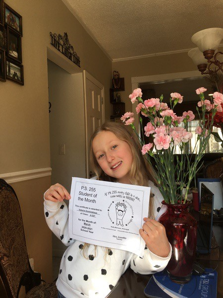Valerie March Student of the Month