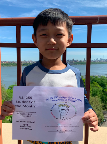 Daniel April Student of the Month