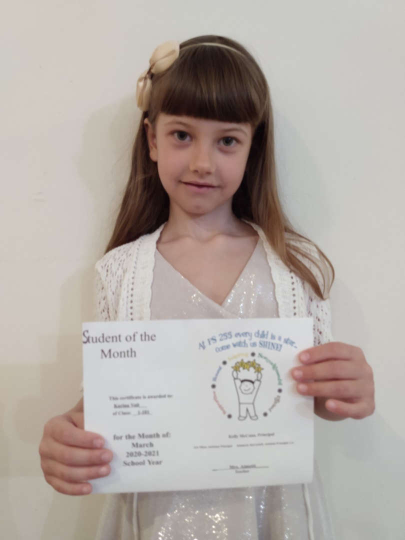 Karina March Student of the Month