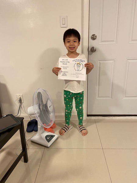 Vincent May Student of the Month