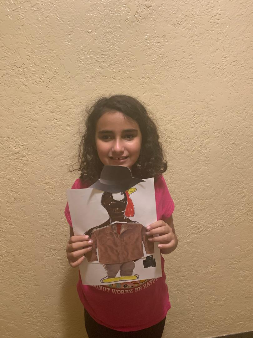 Brown colored turkey