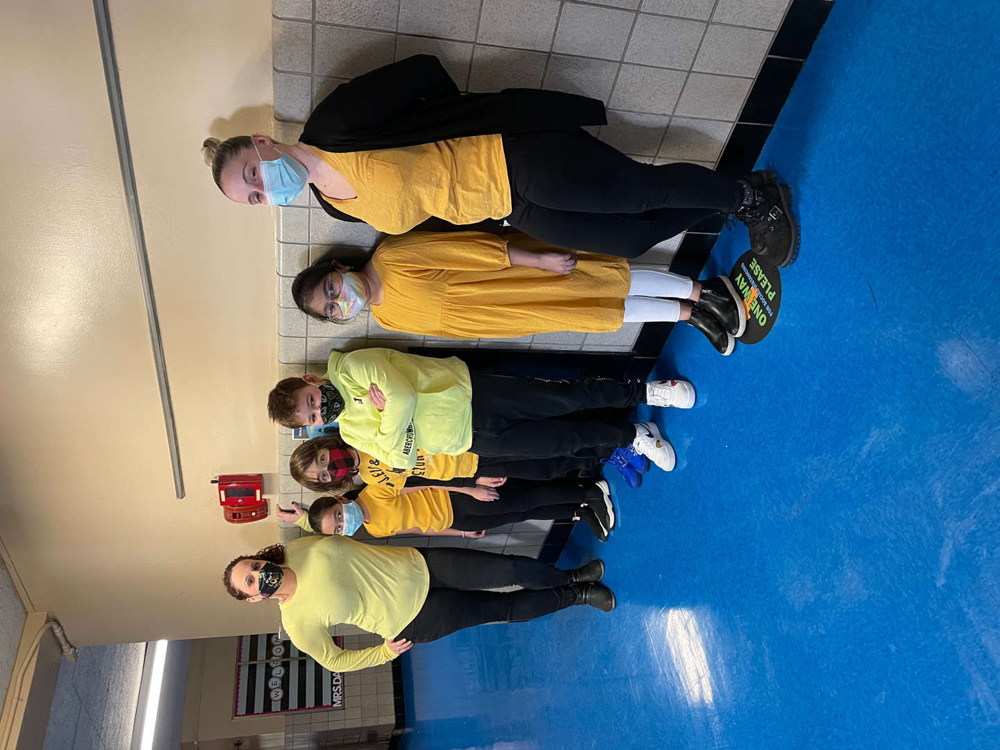 students wear yellow in school for inspiration