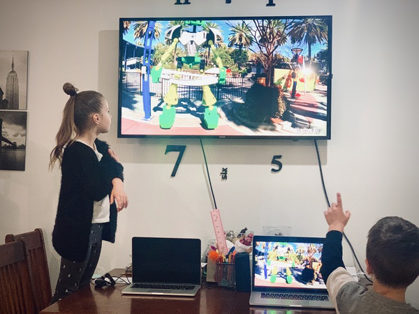 Family enjoys virtual trip to LegoLand