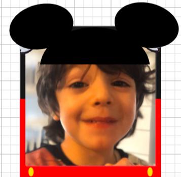 boy with mickey ears