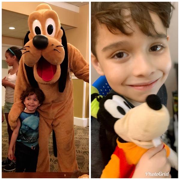 I love Pluto and goofy