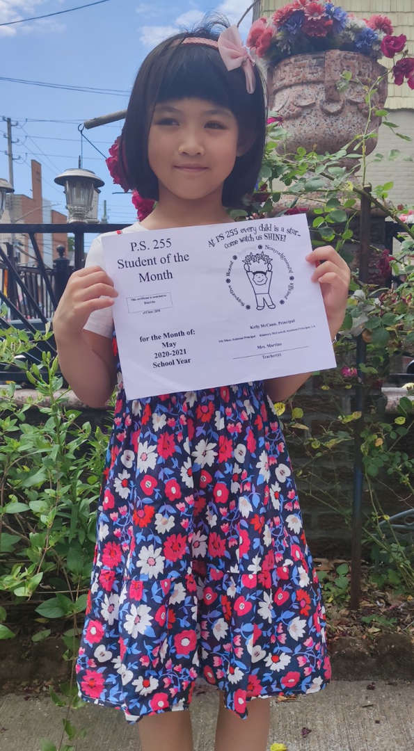 Huiyi May Student of the Month