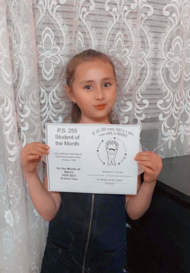 Dilnura March Student of the Month