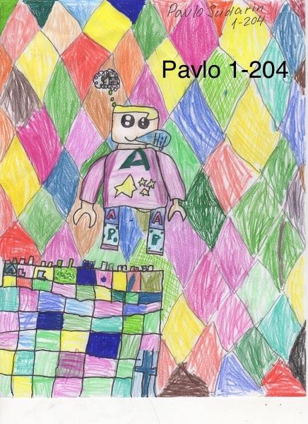 Lego Land drawing