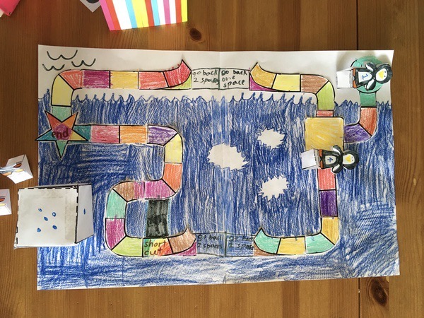 child made board game