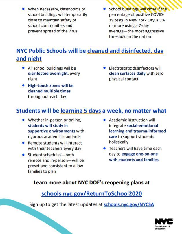 School pledge outline