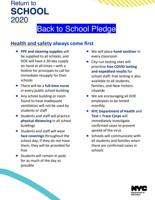 Return to school pledge1
