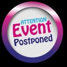 event postponed sign