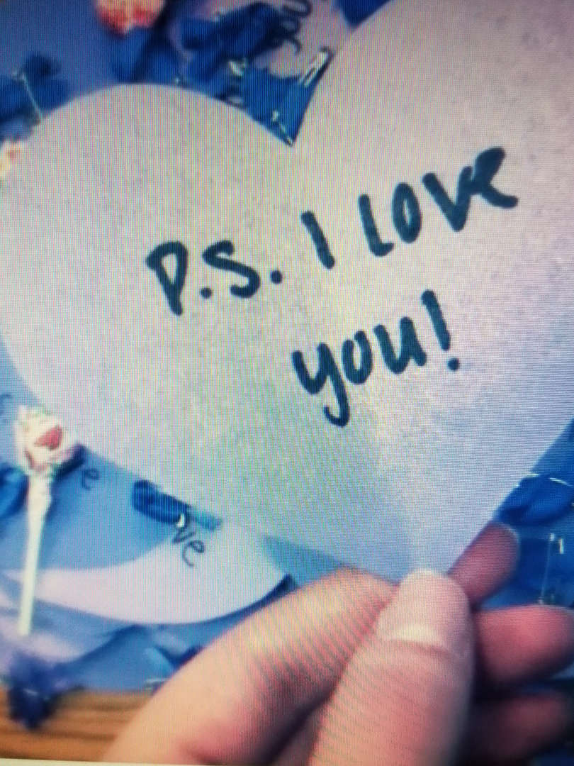 cut out heart for ps i love you day