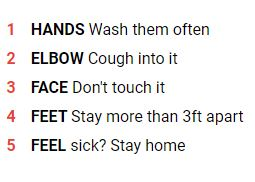 5 ways to keep clean