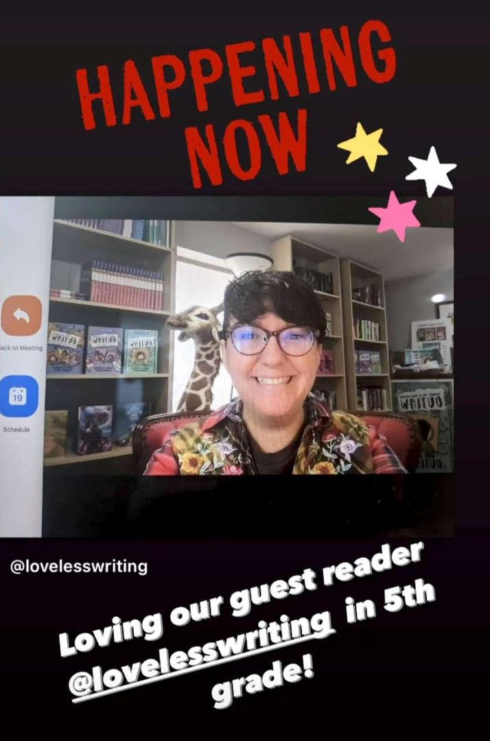 author Gina Loveless
