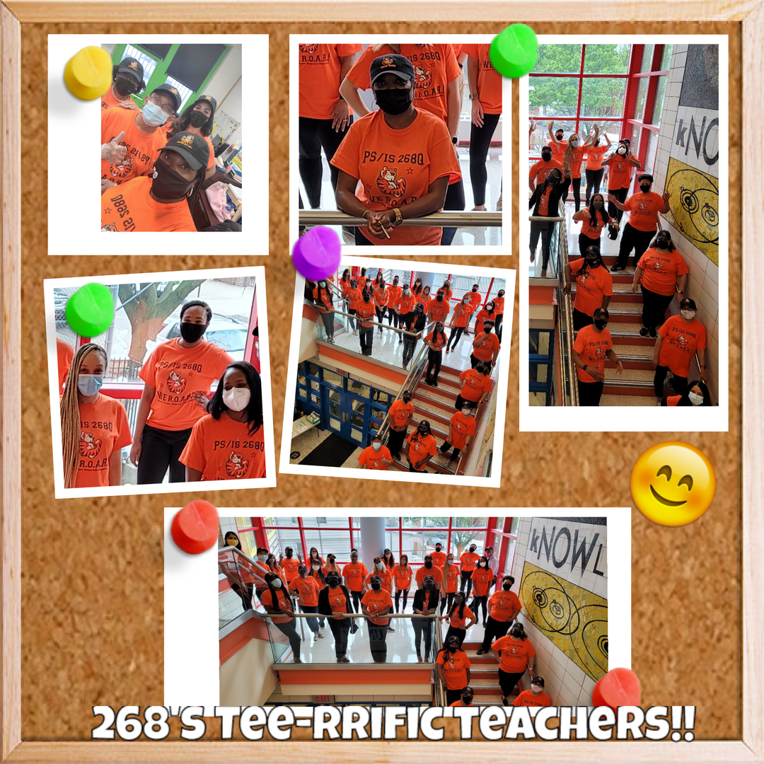 TEE SHIRT DAY WITH TEACHERS