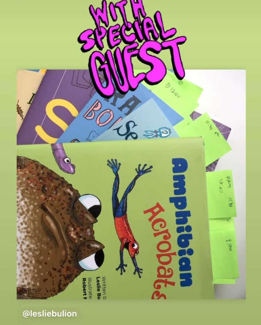 books published by Author Leslie Bulion