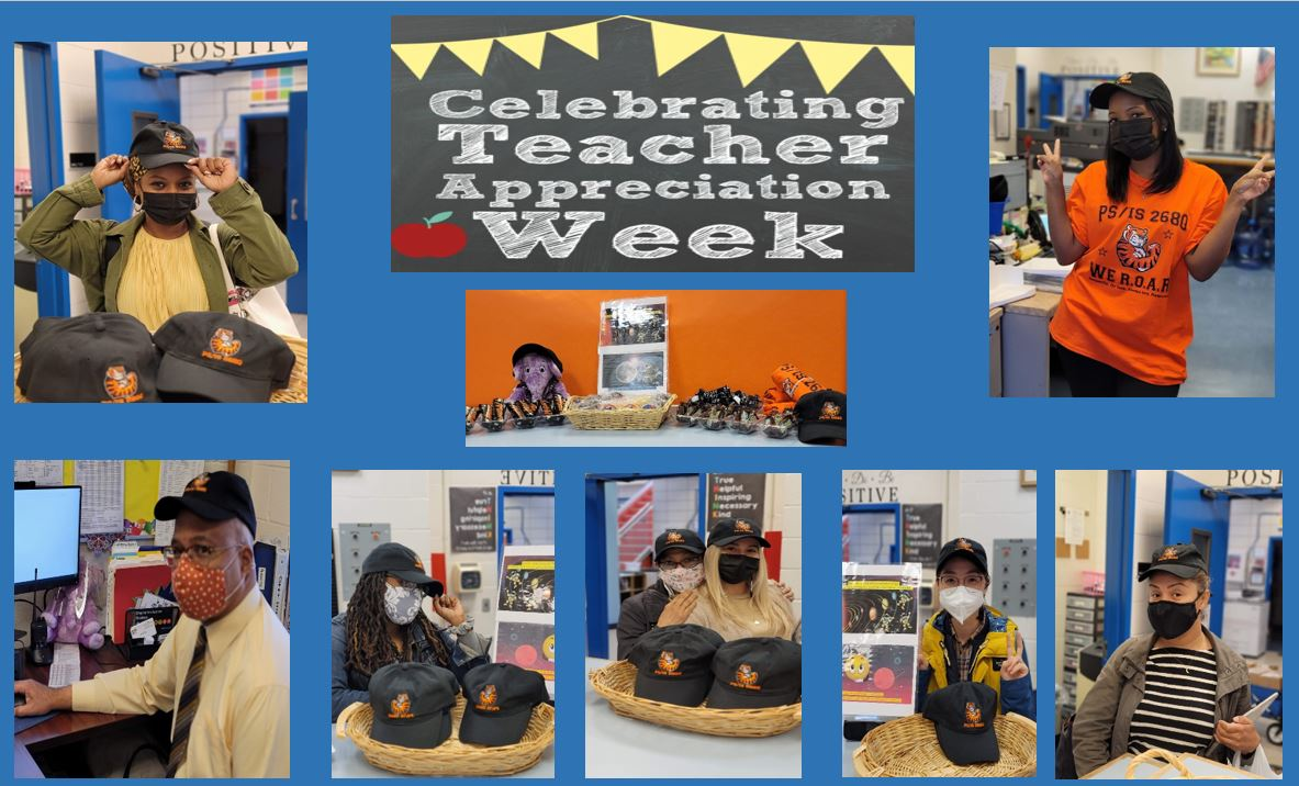 TEACHERS POSE WITH HATS