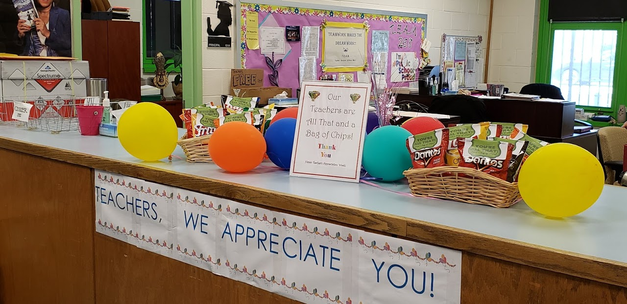 teacher appreciation week gets a bag of potato chips and a kind thought
