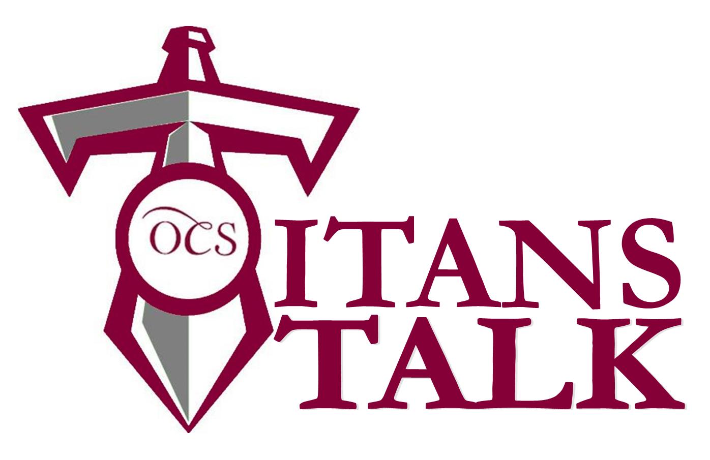 Titans Talk Logo