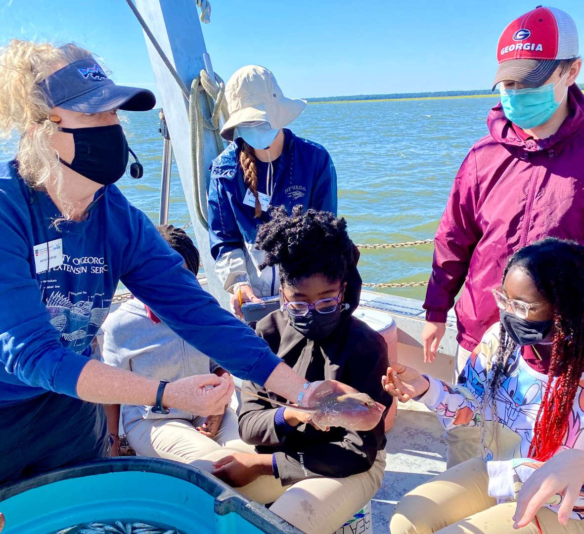 7th Grade Marine Science, Sept 2021