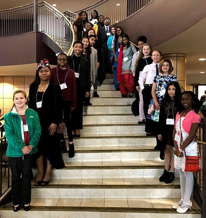 Model UN Delegates, 2020