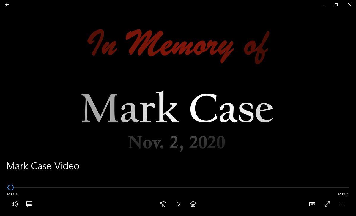 Mark Case Video link