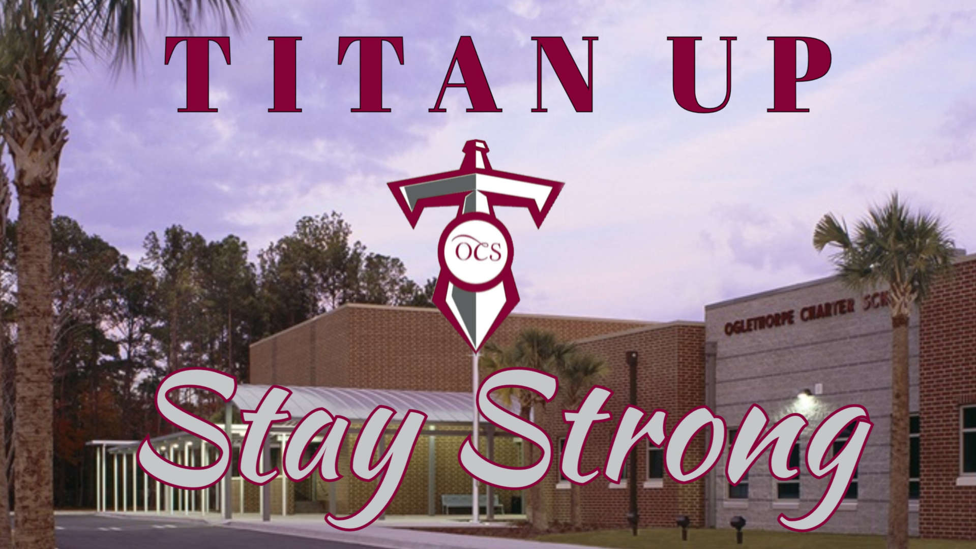 Titan Up - Stay Strong